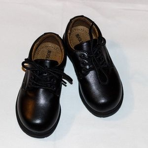 Bugle Boy Black Dress Shoe - Non Marking Sole
